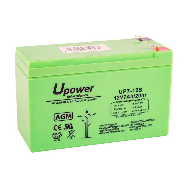 Batería U-Power AGM 12V 7Ah