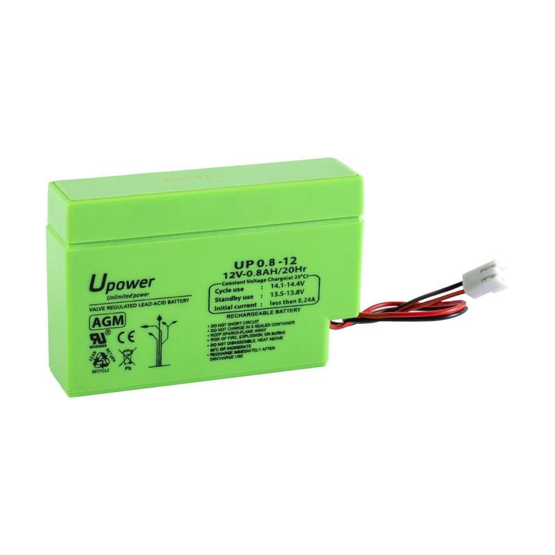 Batería U-Power AGM 12V 0.8Ah