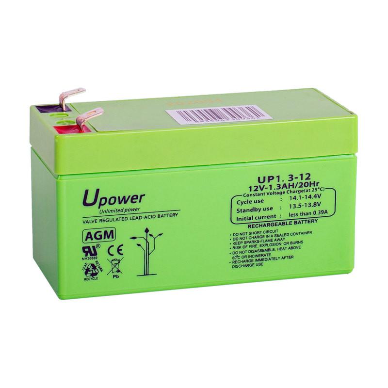 Batería U-Power AGM 12V 1.3Ah