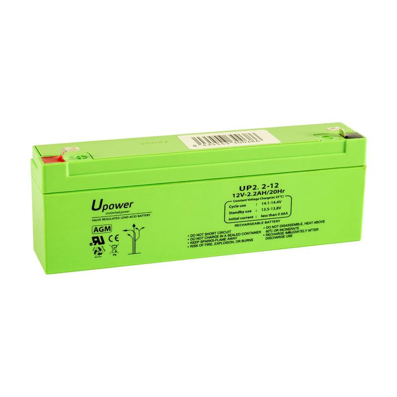 Batería U-Power AGM 12V 2.2Ah