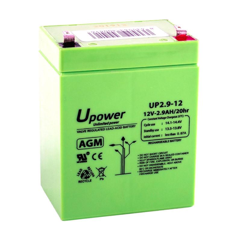 Batería U-Power AGM 12V 2.9Ah