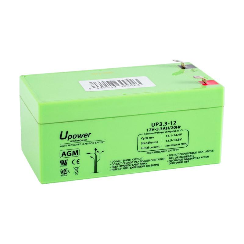 Batería U-Power AGM 12V 3.3Ah