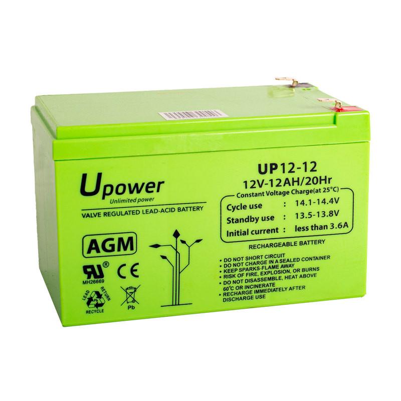 Batería U-Power AGM 12V 12Ah