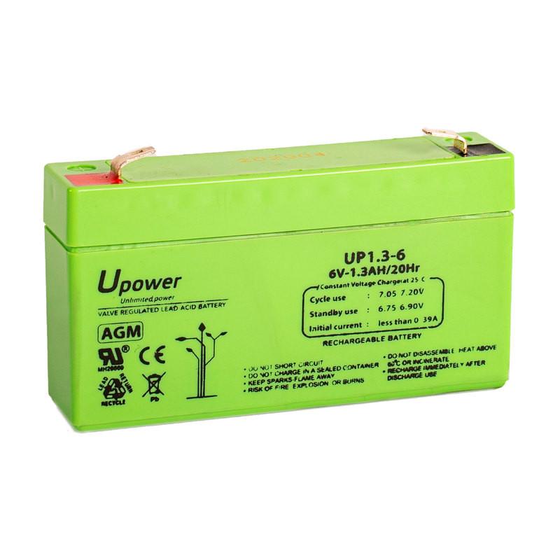 Batería U-Power AGM 6V 1.3Ah