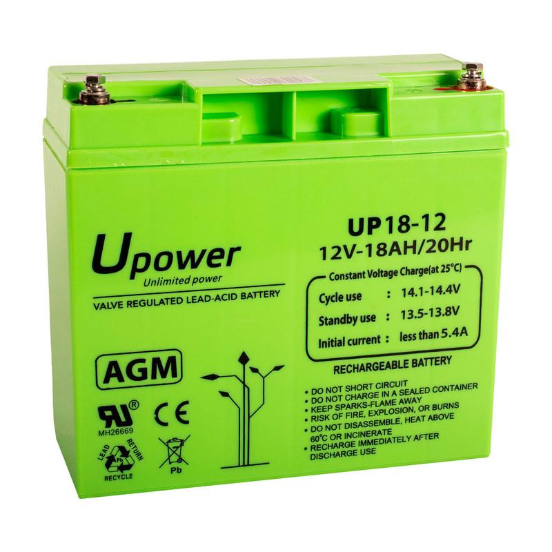Batería U-Power AGM 12V 18Ah