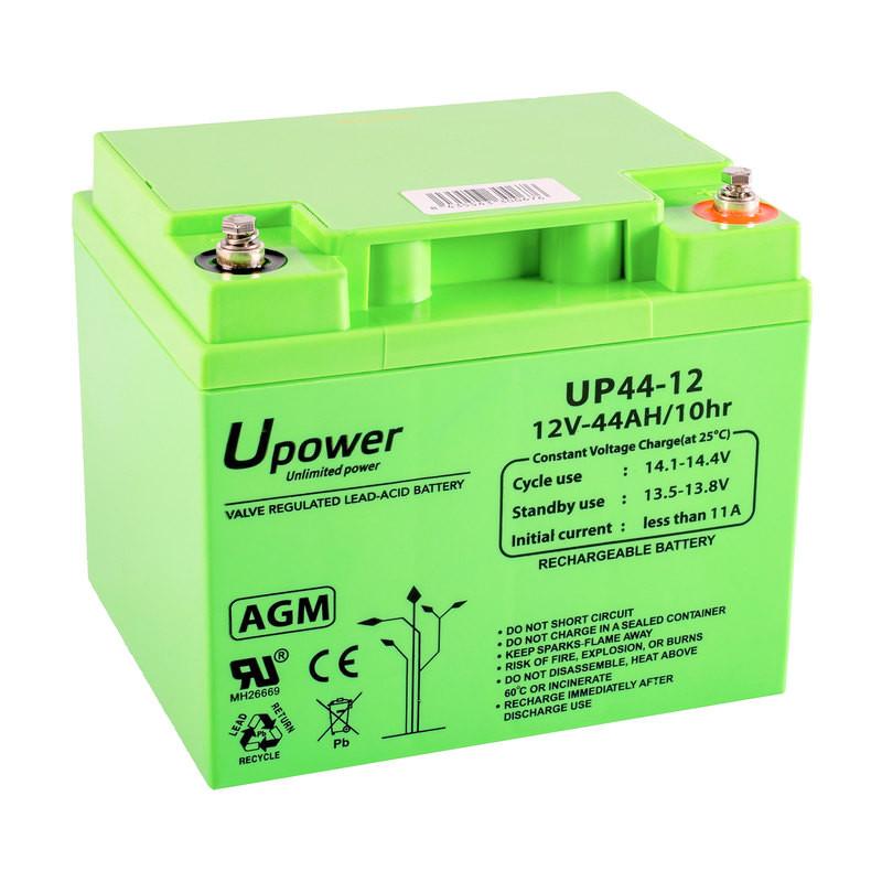 Batería Plomo U-Power 12V 44Ah