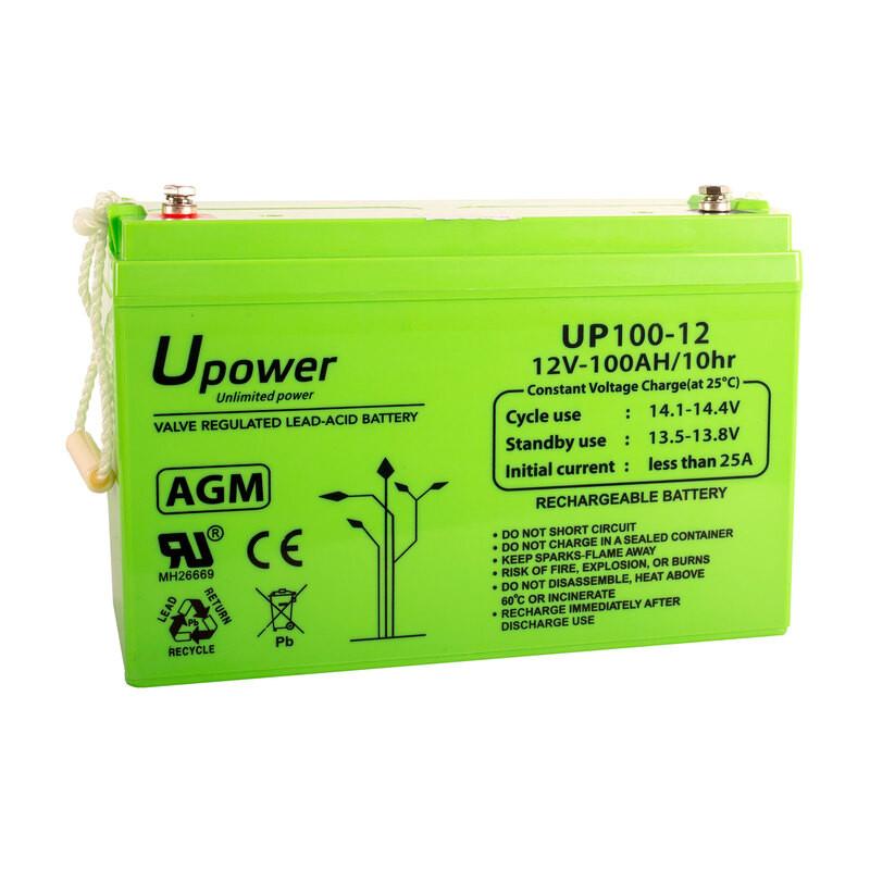 Batería U-Power AGM 12V 100Ah