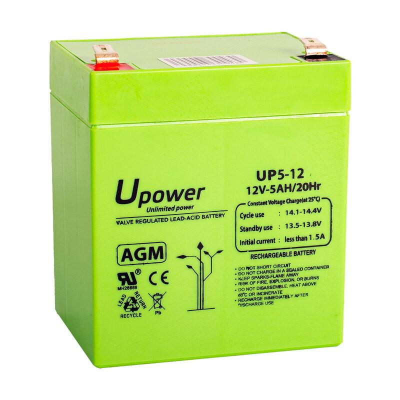 Batería U-Power AGM 12V 5Ah