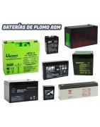 Baterías plomo AGM